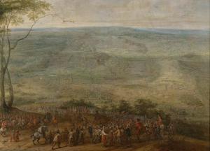 Het ontzet van Landrecies door de Spanjaarden onder Ottavio Piccolomini en aartshertog Leopold Wilhelm, 18 juni 1647