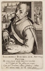 Portret van Joachim Beuckelaer (1530-1573)