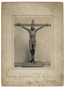 Plastiek van Christus aan het kruis