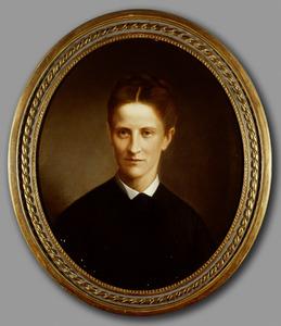 Portret van Johanna Engelbertha ter Meulen (1849-1878)
