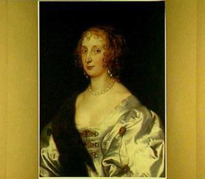 Portret van Elizabeth Stuart, gravin van Arundel (?-1673)