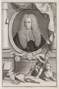 Portret van Cornelis van Bijnkershoek (1673-1743)