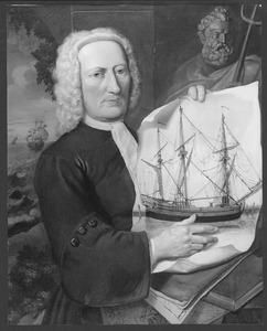 Portret van een onbekende reder of zeekapitein