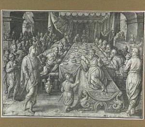 Het gastmaal van koning Ahasveros (Ester 1:1-6)