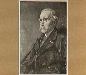 Portret van J.G. Mulder (1837-1883), musicus