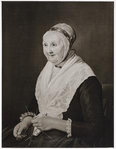 Portret van Sjoerdtje Ynses Faber (1722-1805)