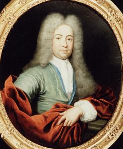 Portret van Abraham Muyssart (1676-1724)