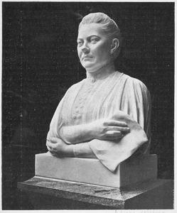 Portretbuste van Theodora Haver