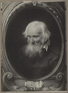 Portret van Petrus Egidius de Morrion (?-?) op 116-jarige leeftijd