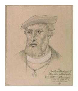 Portret van Adolf van Bourgondië (1489-1540)