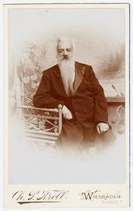 Portret van Jan Hendrik Adriaan Modderman (1834-1907)