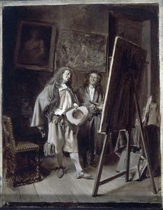 Bezoek aan het atelier van de kunstenaar