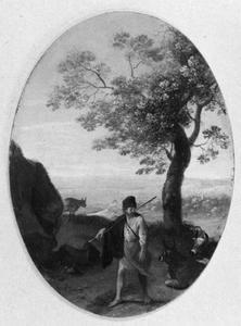 Landschap met herder