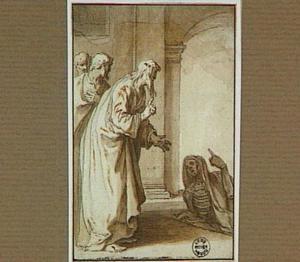 Macarius Æegiptus wekt een dode to leven