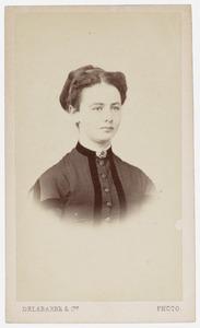 Portret van van mejuffrouw van Vloten