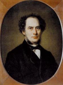 Portret van Corstiaan Hendrikus de Swart (1818-1897)