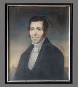 Portret van Carl Friedrich Gehne (....-1843)