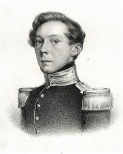 Portret van Karl Gustav Salomon von Bonstetten (1807-1886)