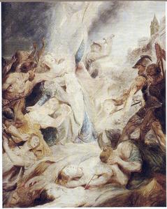 Het martyrium  van de H. Ursula