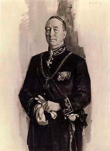 Portret van Eduard Hendrik Joan baron van Voosrt tot Voorst (1892-1972)