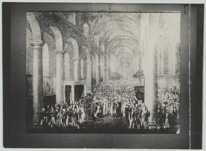 De doopplechtigheid van de latere koning Willem III (1817-1890), 28 maart 1817