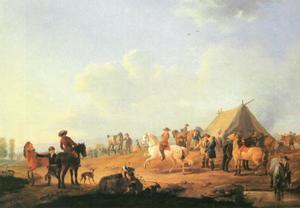 Een paardenmarkt