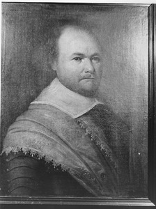 Portret van Jan den Ouden, kapitein in het Noord-Hollands regiment