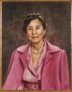 Portret van Elisabeth Clara Schuller tot Peursum (1917-2004)
