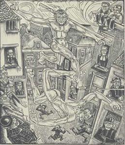 Illustratie voor 'Also sprach Zarathustra' van Friedrich Nietzsche