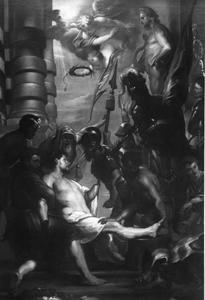 Het martelaarschap van de heilige Adrianus