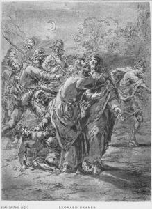 Judas verraadt Christus