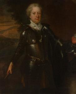 Portret van Alexander Bernhard des H.R. Rijksbaron van Spaen (1669-1745)
