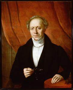 Portret van Abraham Johannes van Oosterzee (1784-1866)