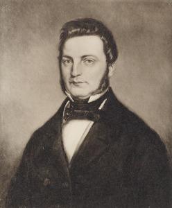 Portret van Pieter Marius Tutein Nolthenius (1814-1896)