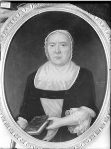Portret van Rebecca Maria Wichers (1704-1784)