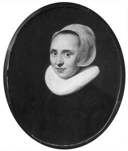Portret van de zuster van Dirk Baltus (?-?)