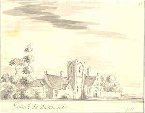 Het huis Doornik te Ressen, gemeente Bemmel 1652