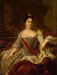 Portret van tsarina Catherina I (1684-1727)