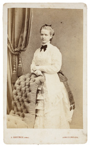 Portret van Maria Louisa Jacoba Cecilia van de Poll (1858-1928)