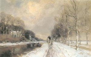 Trekvaart in de winter