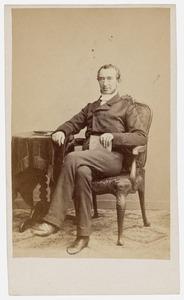 Portret van Everard Ambrosius Zubli (1808-1880)