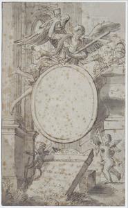 Titelblad met chirstelijke symbolen