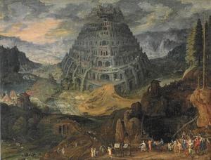 De bouw van de Toren van Babel