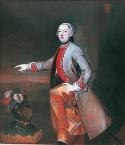 Portret van Frederik Johan van Isendoorn à Blois (1699-1771)