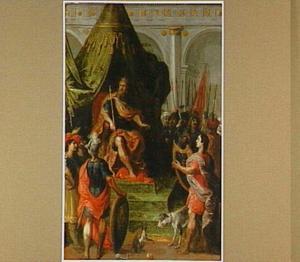 David speelt harp voor Saul (1 Samuel 18:10-12)