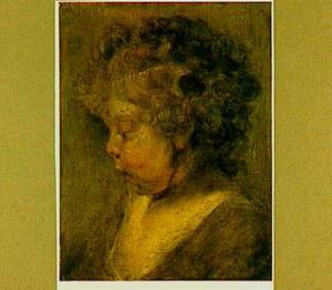 Studie van een jongenskopje (mogelijk Albert Rubens)