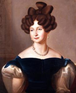 Portret van Anna Paulowna van Rusland (1795-1862) als prinses van Oranje