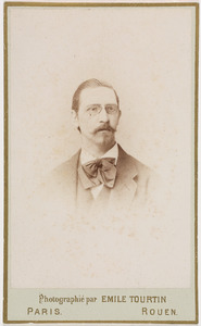 Portret van Eduard Gustaaf Adolf baron Snouckaert van Schauburg (1844-1917)