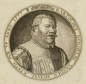 Portret van Berthold Willem van den Heuvel (....-....)