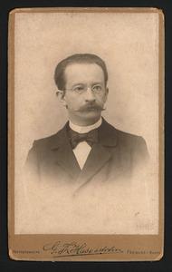 Portret van E. Gaupp